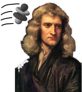 Newton and atom