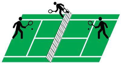 Inverse tennis