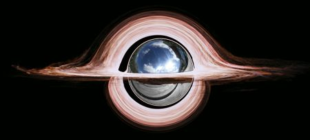 Black hole as ball bearing 1