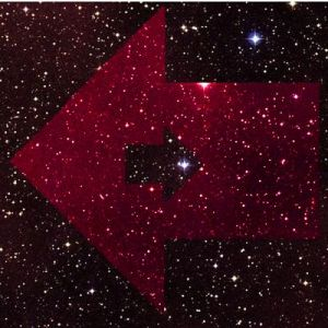 Opposing motion in a starfield