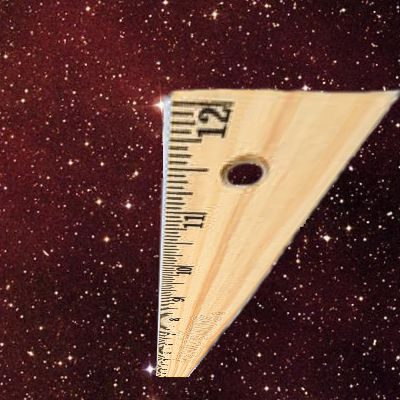Ruler in perspective