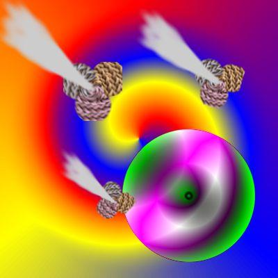 Neutrino swirl 1